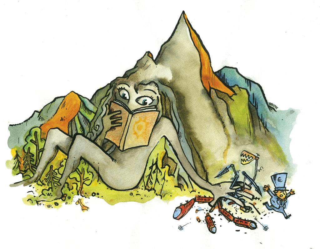 Una montagna di libri contro il TAV