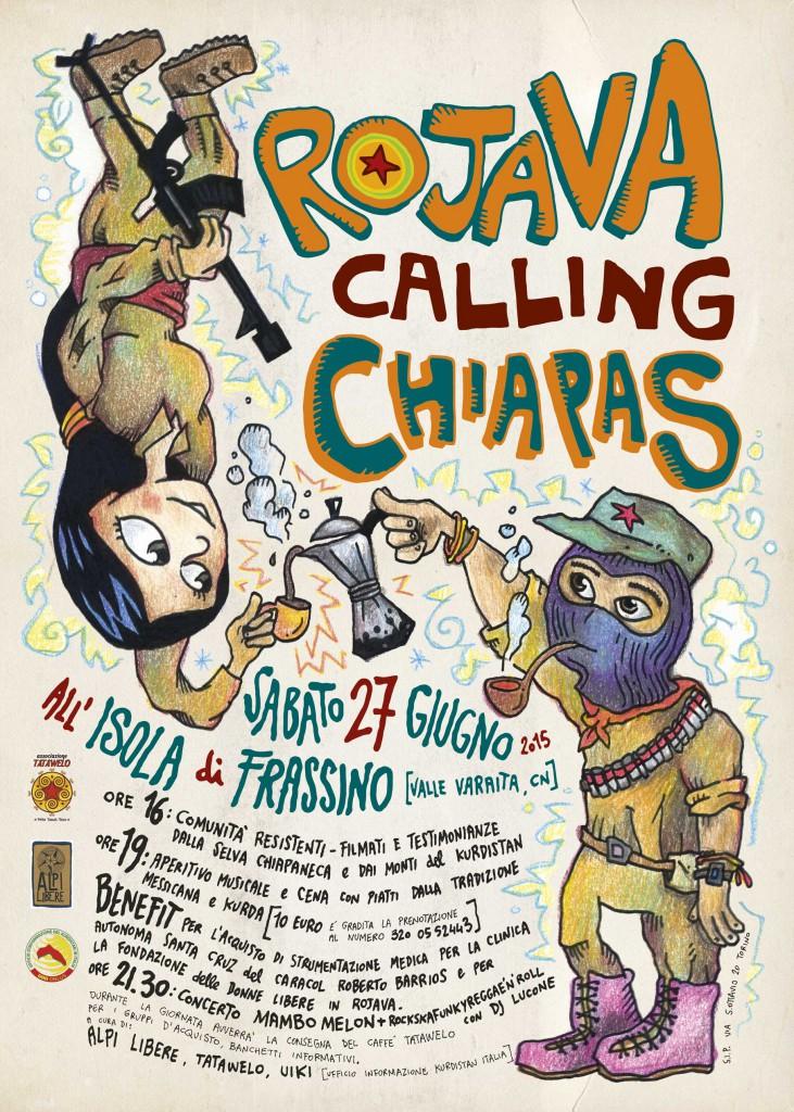 rojava calling chiapas