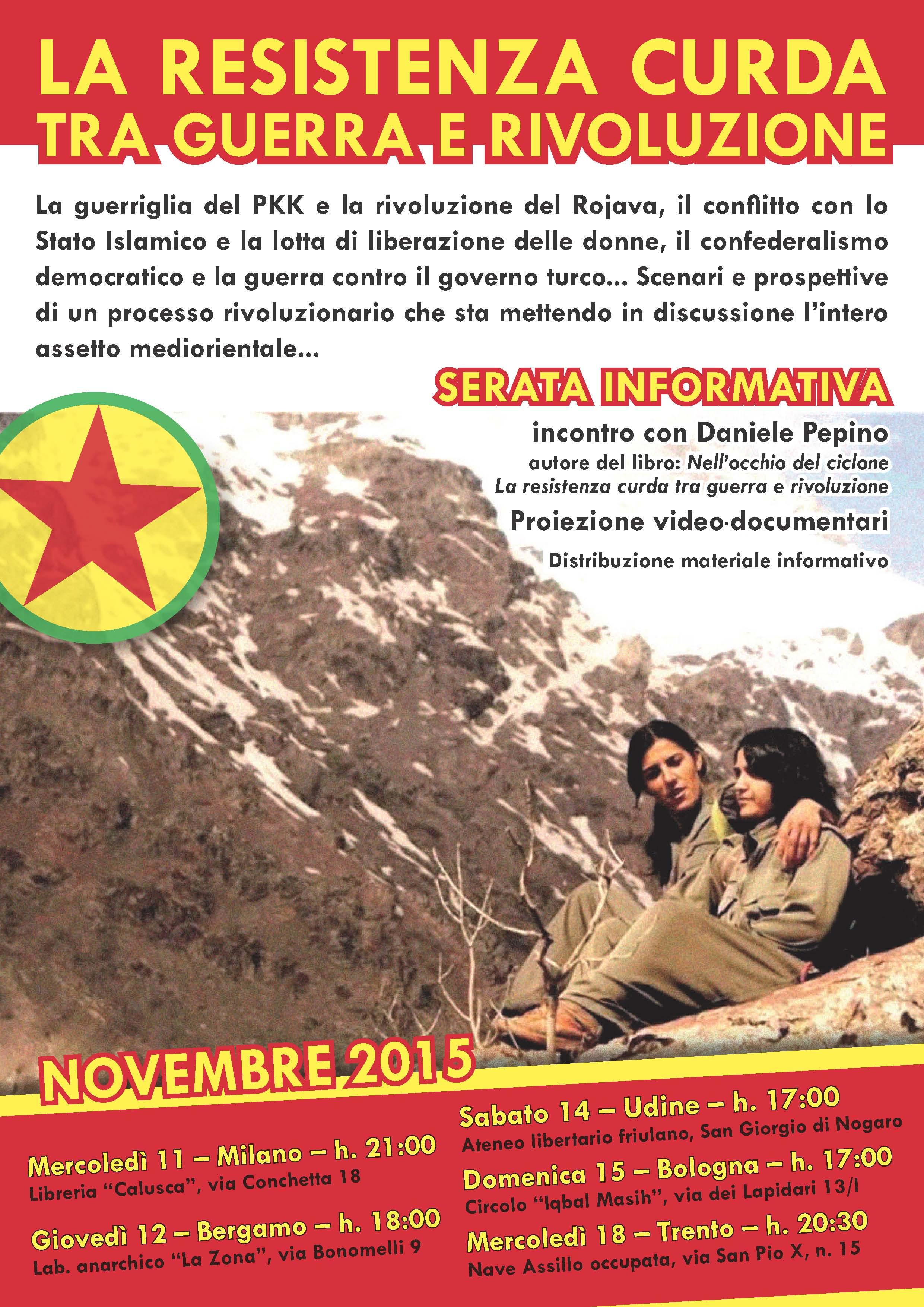 serate informative kurdistan